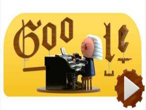 Google Doodle celebrates Johann Sebastia
