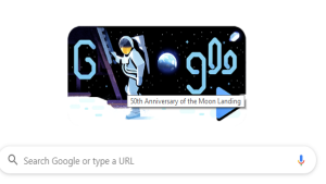 Google Doodle celebrates 50th anniversar