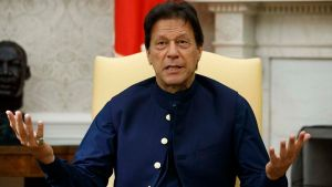 No point talking to India: Imran