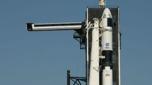 Two NASA astronauts climb aboard SpaceX