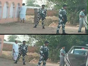Radha Mohan Singh spotted pees in public