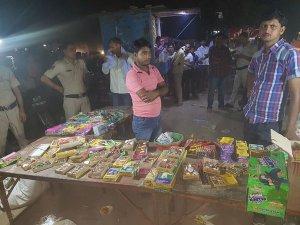 Crackdown on firecracker sale