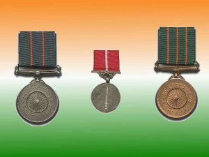 List of  gallantry awardees
