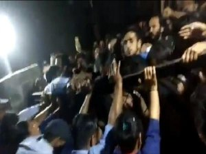 JNU V-C accuses students of forcibly