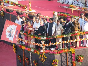 Narendra Modi Flags Off Run Of Unity To Fulfill Aspirations Of Indians