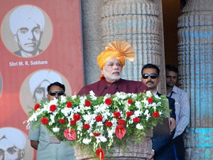 In Pics Narendra Modi Stresses On Education Health At Belgaum Rally