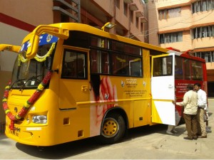 Bengaluru Mobile Speech And Hearing Outreach Bus Launched