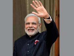 Pm Narendra Modi S Monogrammed Suit Auctioned For Over Rs 4 Crore