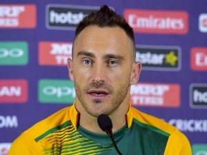 Faf Du Plessis Aims Australia Repeat Against England