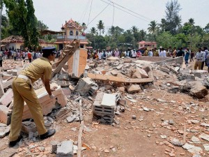 Kerala Temple Fire Local Politician Under Police Radar