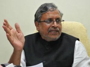 Sushil Modi Blames Rjd Attack On Nitish S Convoy