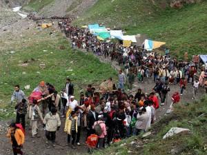 1 213 Pilgrims Leave Amarnath Shrine