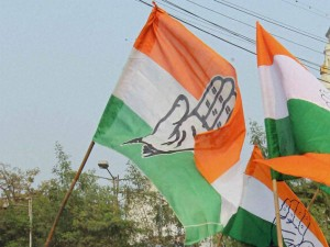 Congress Holds Demonstration Jammu Kashmir