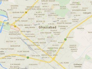 Aap Protests Against Arrests In Ghaziabad