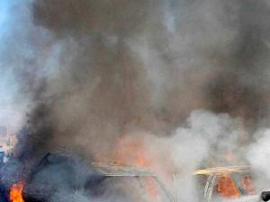 Israeli Strikes Hit Weapons Depot Damascus Airport