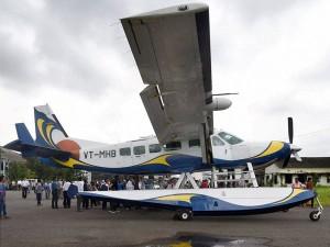 Sea Plane Service Soon From Nagpur Shirdi Gadkari
