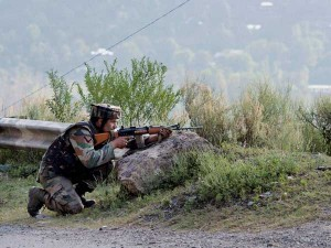Militants Attack Army Camp In Handwara Jammu And Kashmir