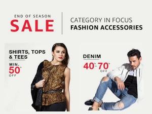 Amazon End Of Season Sale 2017 Get Upto 70 Cashback On Fashion Apparels