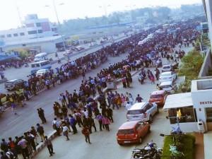 Chennai Massive Protests Continues Support Jallikattu At Marina Beach
