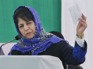 Mehbooba Congratulates Parvez Rasool Making It Team