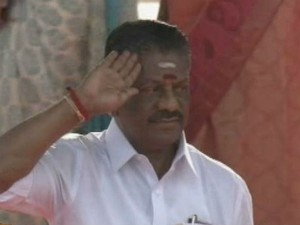 Tn Cm Pannnerselvam Hoists National Flag