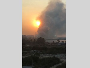 In Pics After Toxic Froth Bellandur Lake Catches Fire