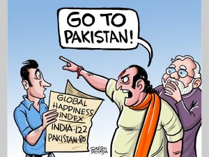 Go To Pakistan The Enemy Country Is Happier Than India