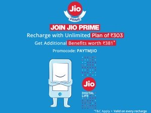 Enjoy Unstoppable Unlimited Reliance Jio Services Use Paytm Code Recharge Now