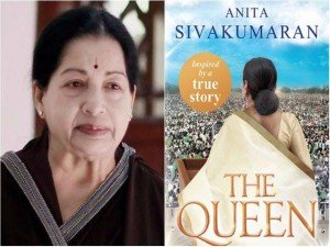 Fictional Account Jayalalithaa S Life The Queen Hits Book