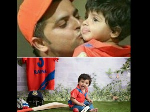 Ipl 2017 Suresh Raina Shares Adorable Pic With Daughter Gracia