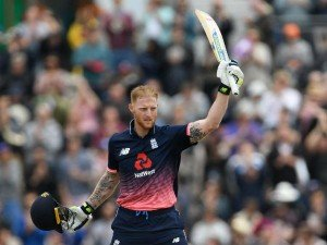 Champions Trophy 2017 England Look Action Man Ben Stokes