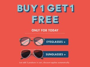 The Big Tuesday Sale Buy 1 Get 1 Free At Lenskart Fastrack Idee And More