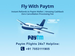 Great News Zero Cancellation Fees On Flight Bookings At Paytm Find Out More