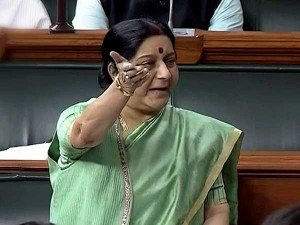 I Ll Be The First Person To Inform About Missing Indians Sushma In Rs