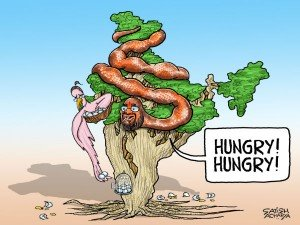 Hungry Amit Shah Devours Entire India Sonia Tries Hard S