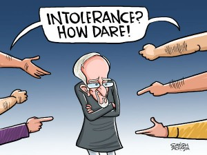 Hamid Ansari Gets First Hand Experience Intolerance