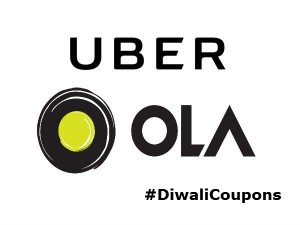 Diwali Coupons Sale Ola Uber Book Rides From Rs 99 Onwarsa Day2