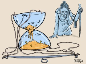 Mother India Cries As She Fails Feed Her Hungry Children