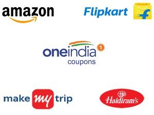 Oneindia Coupons Diwali Sale Flipkart Amazon Makemytrip Haldirams Upto 70 Off