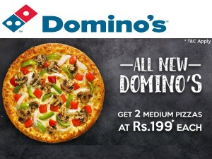 Diwali Dominos Offer Pizzas Worth Rs 295 At Rs 199 Only