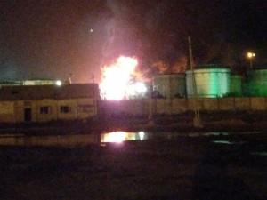 Fire Onboard Oil Vessel Off Gujarat Coast Crew Rescued