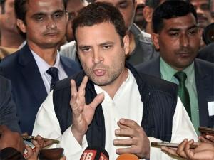 Aadhaar Compulsory Weapon Of Govt To Disempower People Rahul Gandhi