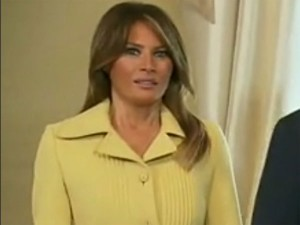 Did Putin Scare The Bejesus Out Of Melania Trump Watch Her Expression