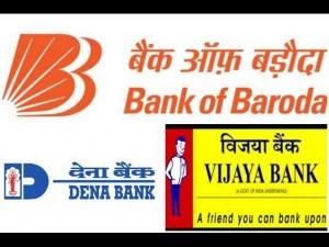 Bob Dena Bank Vijaya Bank Merger Investors Lose Rs 2 72 Lakh Crore In 2 Days