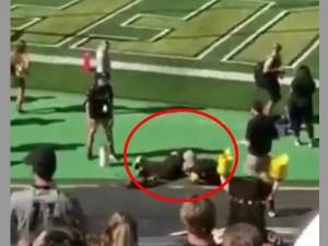 Colorado Football Mascot Accidentally Shoots Self Below Belt Usa