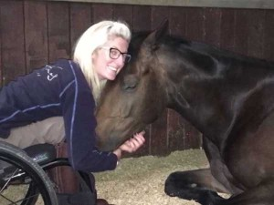 Video Woman Paralysed In Car Accident Overcomes Odds To Ride Horses Again