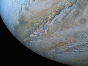 Nasas Juno Probe Sends Back Incredible Photos Of Jupiters Swirling Clouds