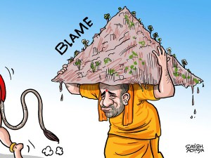 Yogi Adityanath Carries Mountain Of Blame After Debacle Daily Cartoon December14