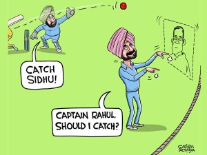Who Is Sidhu S Captain Daily Cartoon Dec4