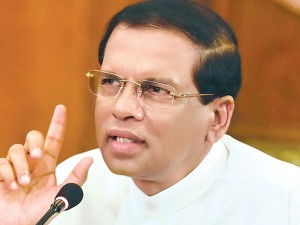 Sirisena To Make Changes In Top Positions Of Defence Forces Within Next 24 Hours